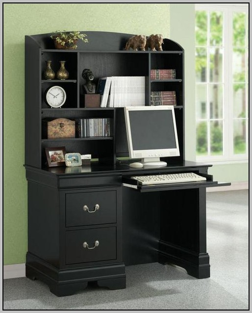 Single Pedestal Desk With Return