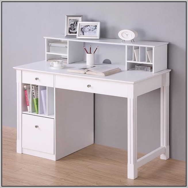 Small Desk With Drawers For Computer Desk Home Design