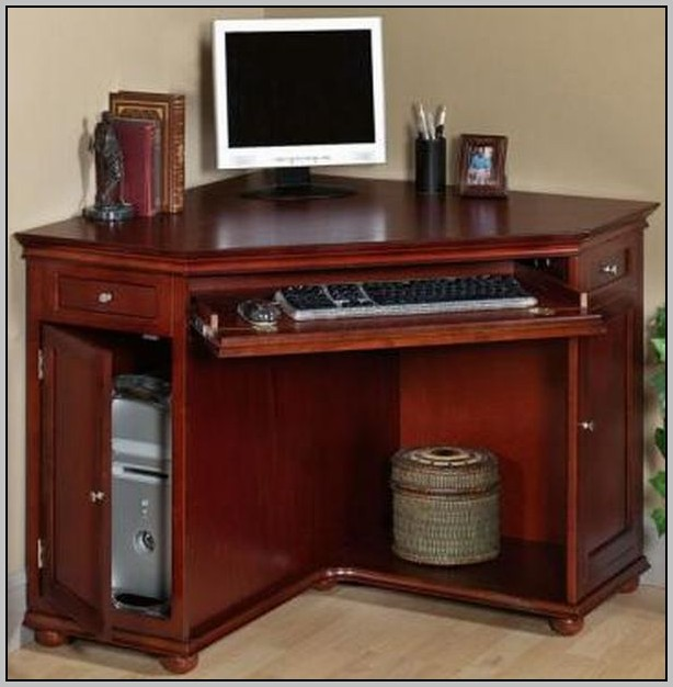 Small Black Computer Desk With Hutch Desk Home Design