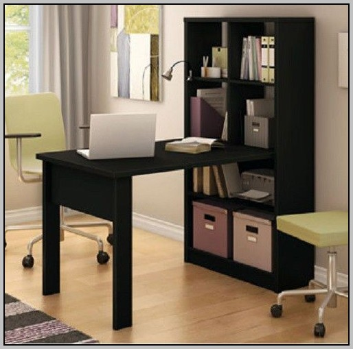 South Shore Desk And Bookcase Unit Combo