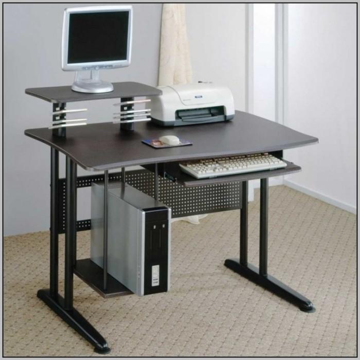 Space Saving Corner Computer Desk