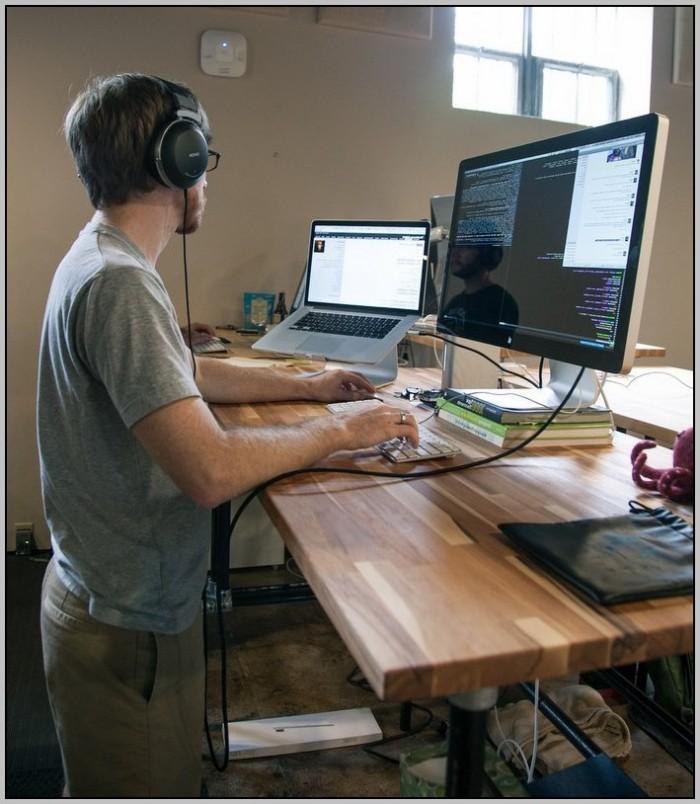 Stand Up Work Desk Plans