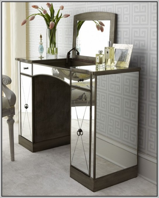 Mirrored Vanity Table Jcpenney Desk Home Design Ideas