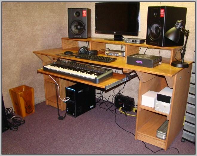 Studio Workstation Desk Plans