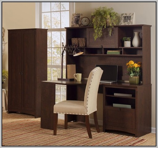 Tall Corner Desk With Storage