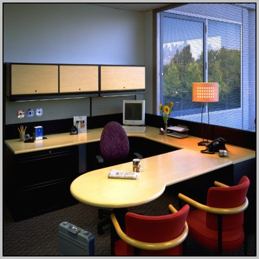 U Shaped Desk For Small Office