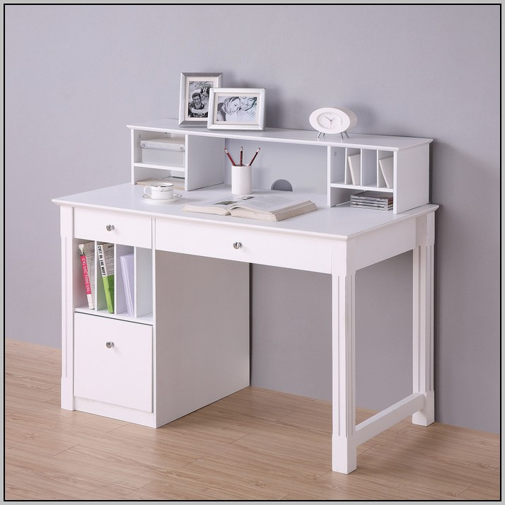 Walker Edison Desk With Hutch