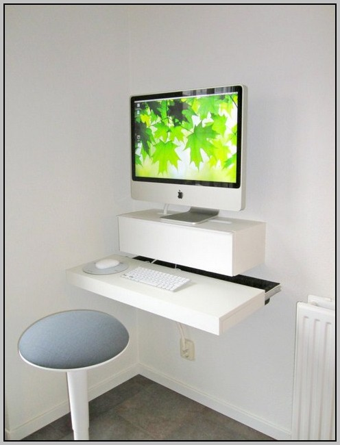 Wall mount desk lamp desk home design ideas for Wall mounted desks ikea