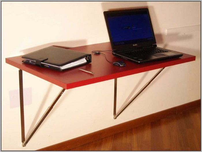 Wall Mount Folding Laptop Desk