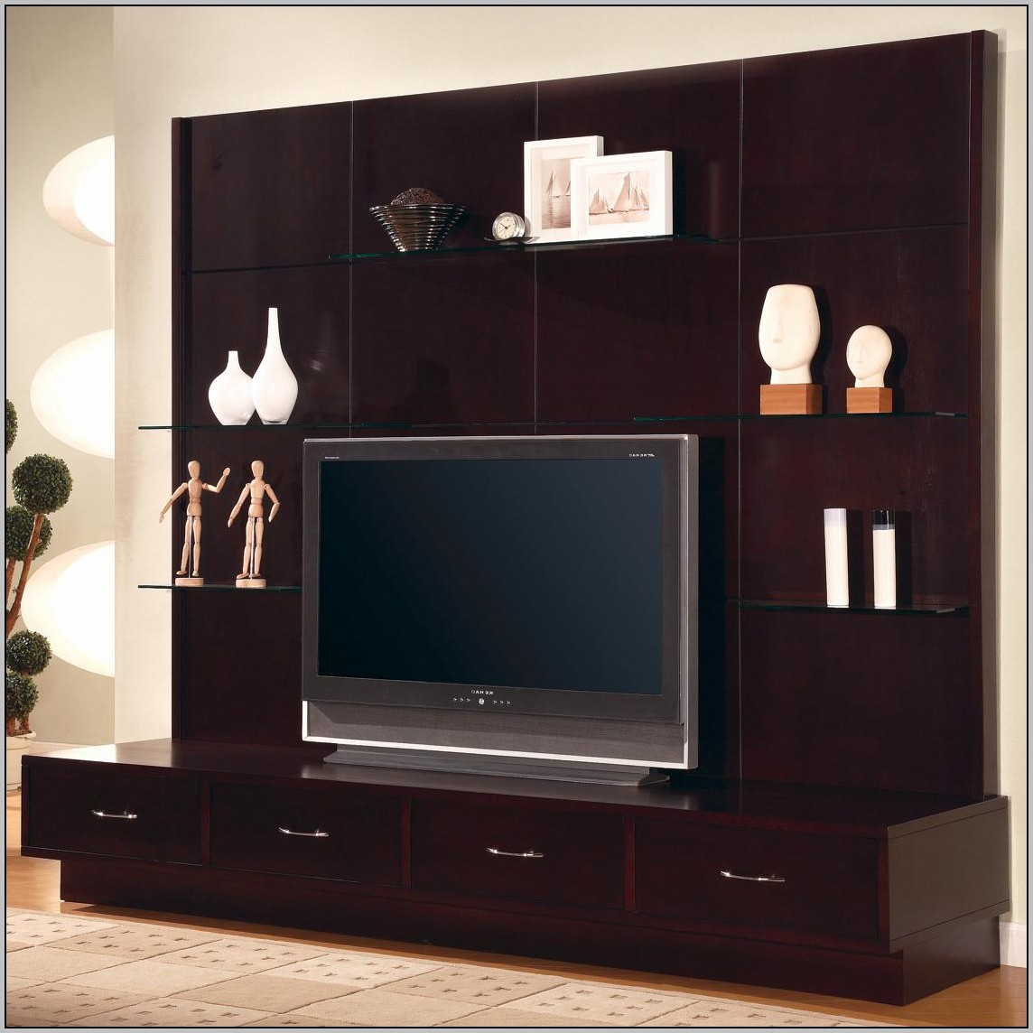 Wall Unit Desk Tv Download Page Home Design Ideas
