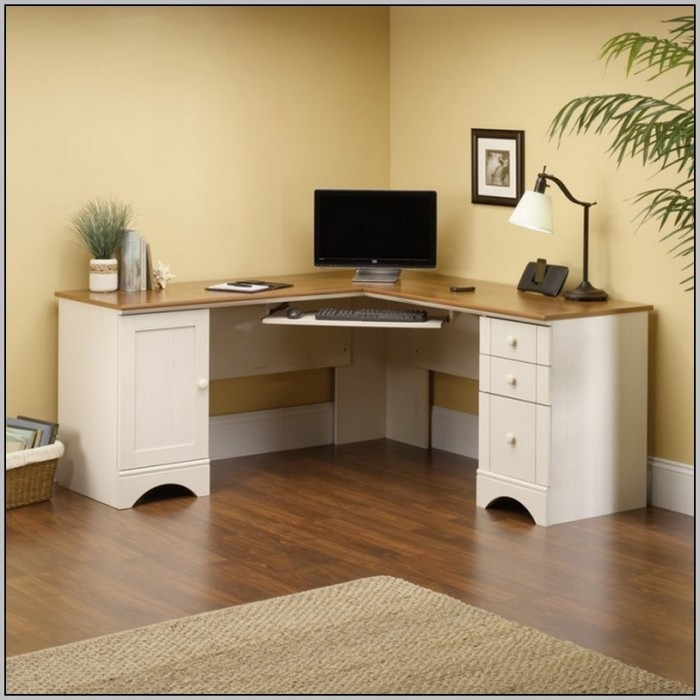 White corner desks uk desk home design ideas for White desk with hutch ikea