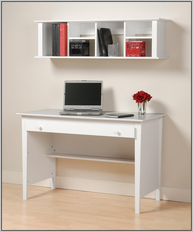 White Wood Computer Desk With Hutch Download Page Home
