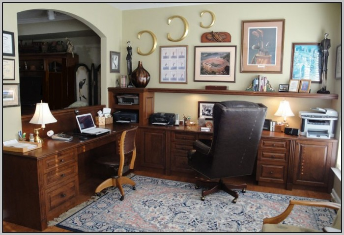 Wrap Around Desk Office