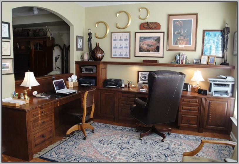 Wrap Around Desk Office Desk Home Design Ideas