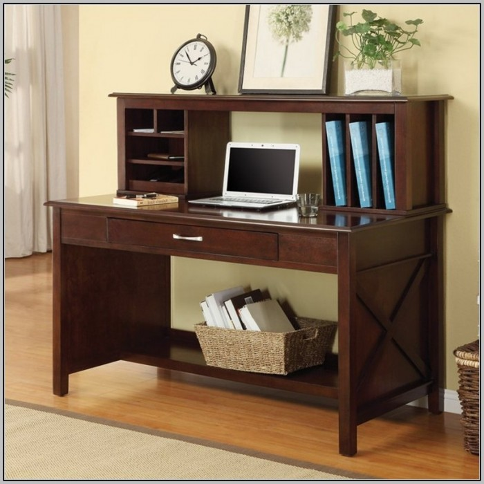Wrap Around Desk With Hutch