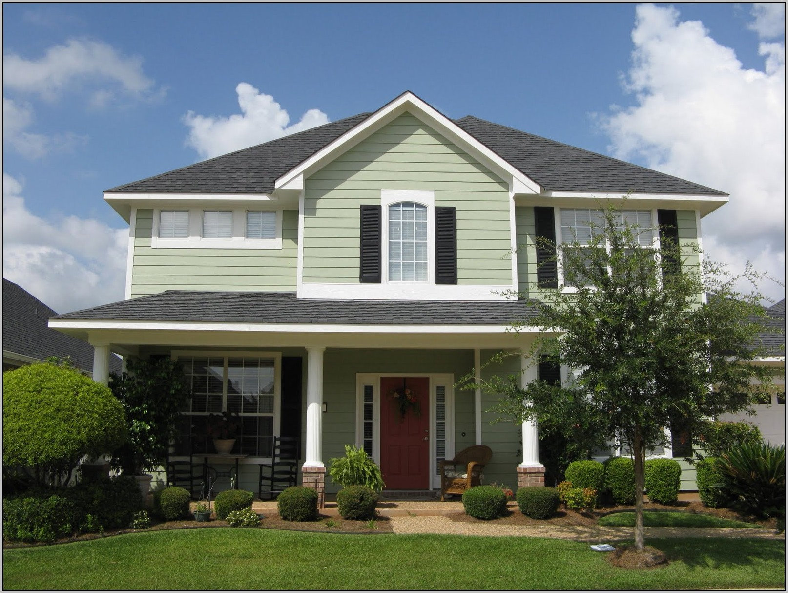 Exterior House Paint Colors Combinations