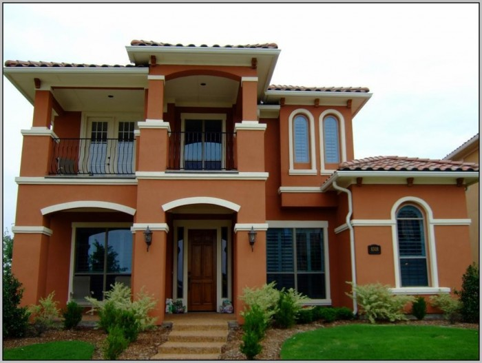 Exterior Paint Ideas With Red Brick