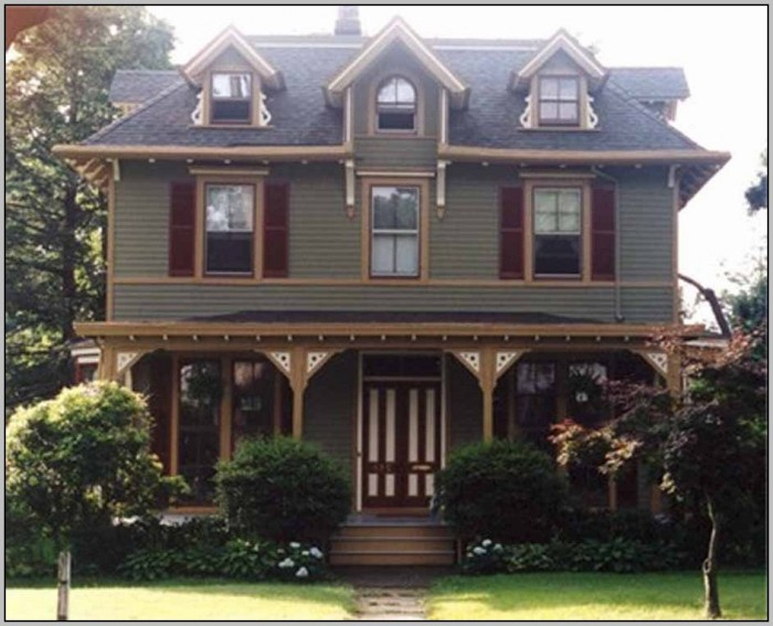 Exterior Paint Schemes For Homes