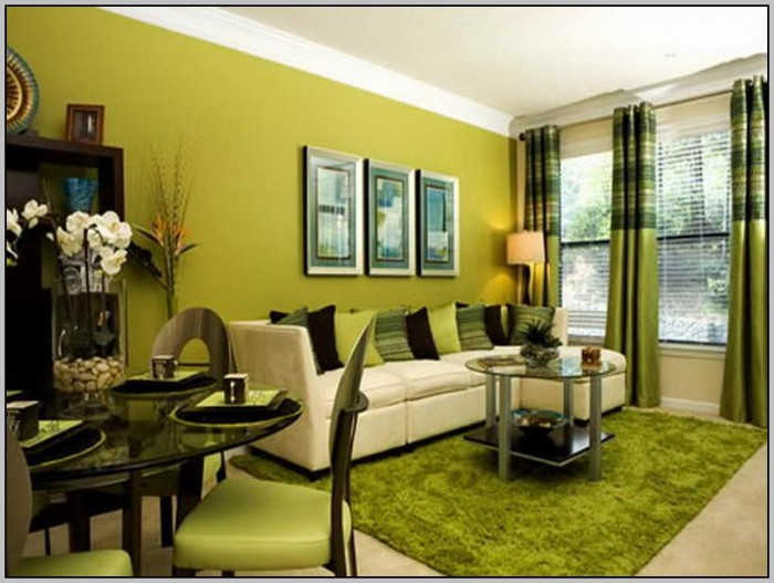 Living Room Paint Color Ideas Green
