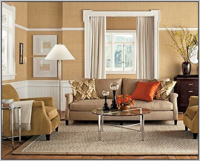 Living room paint color ideas with tan furniture for Living room paint ideas 2015