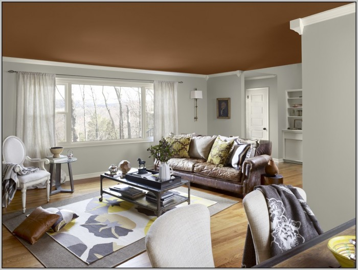 Paint Colors For Living Room Two Tone