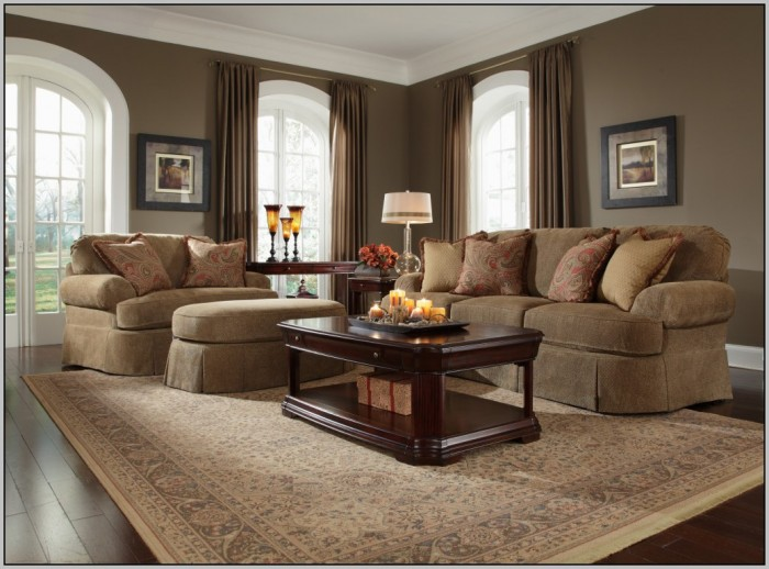Dark Wood Trim And Wall Paint Color Colors For Living Room With Oak Painting