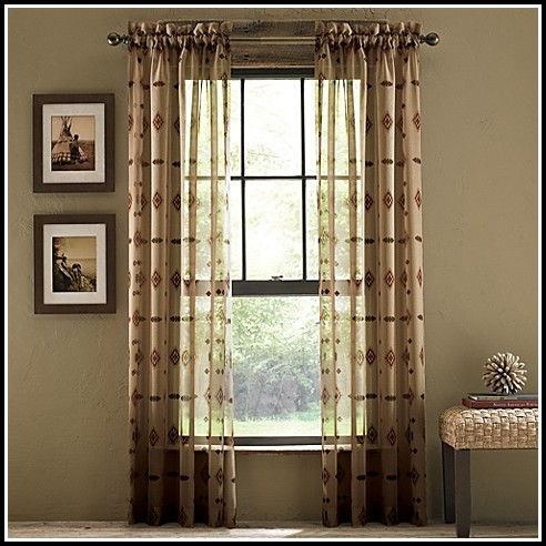 63 Inch Semi Sheer Curtains
