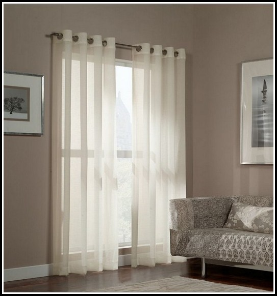 95 Sheer Curtain Panels