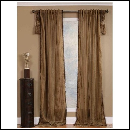 96 Inch Sheer Curtain Panels