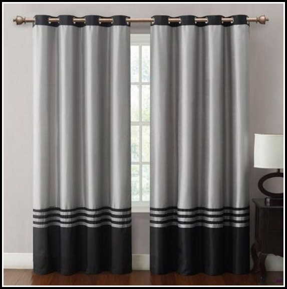 Black And Grey Curtains Dunelm Mill