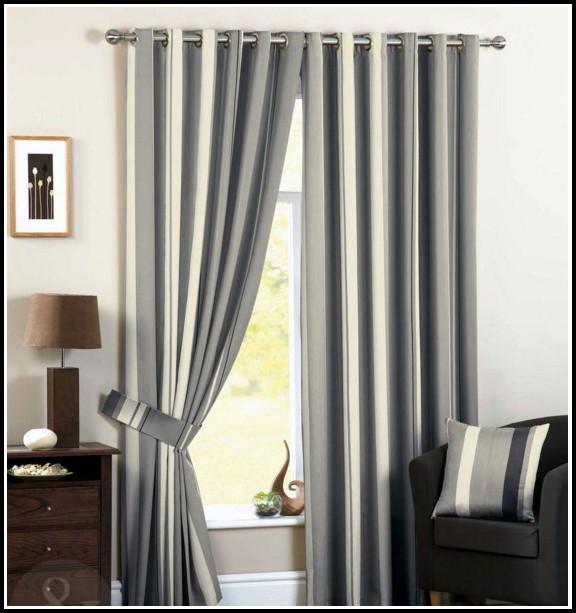 Black And Grey Curtains Ebay