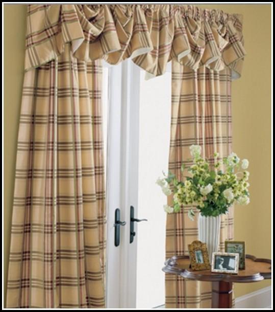 Black And Tan Primitive Curtains Curtains Home Design