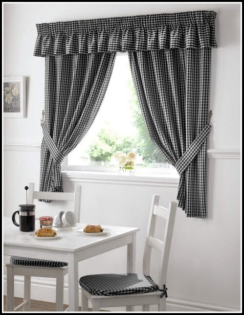 Black And White Checkered Curtains Uk