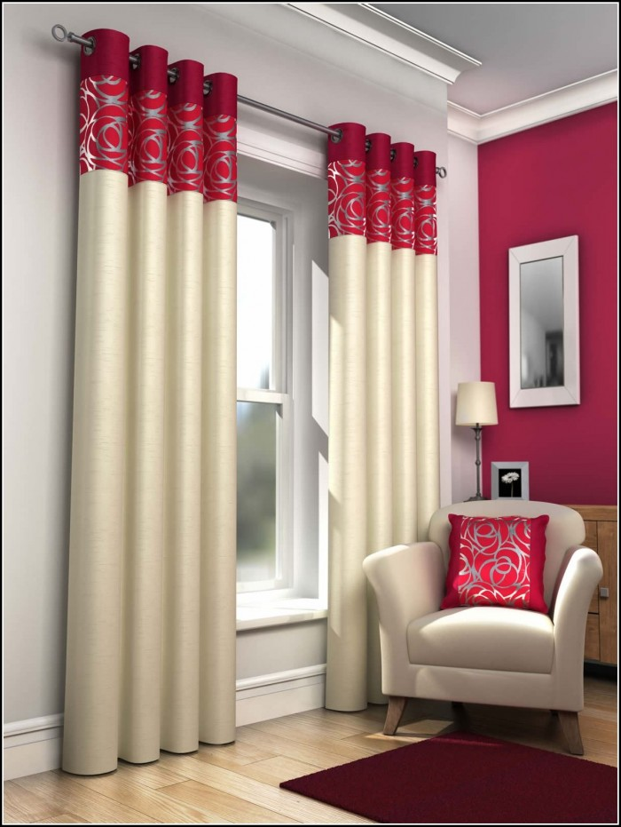 Blue And Red Plaid Curtains
