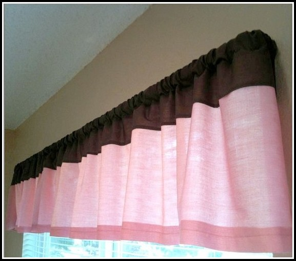 Brown And Pink Curtains For Nursery