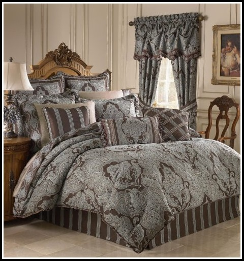 Complete Comforter Sets With Matching Curtains