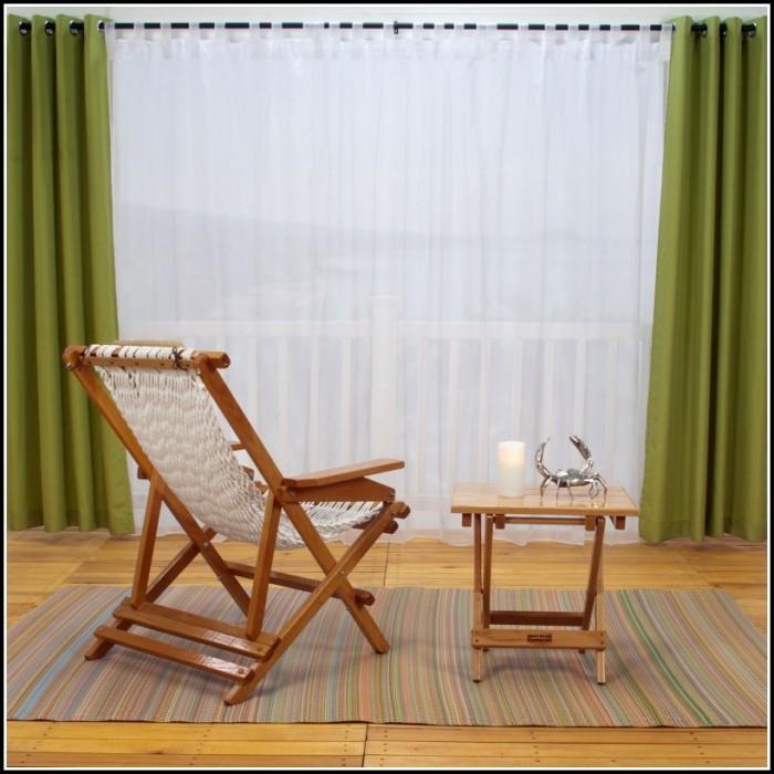 Concealed Tab Top Sheer Curtains