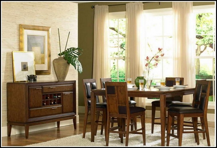 Country Dining Room Curtain Ideas
