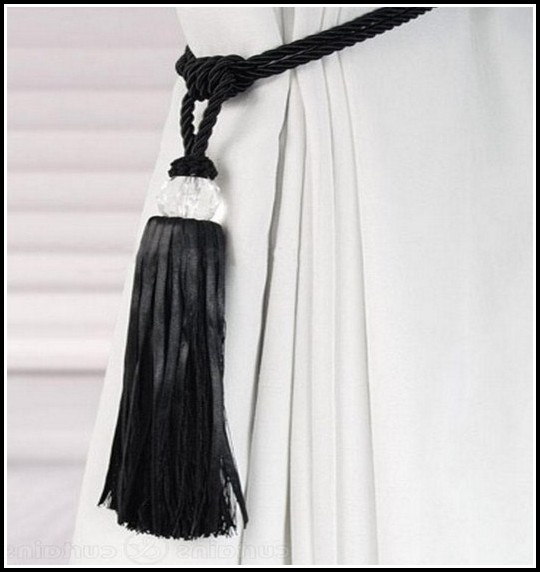 Curtain Tie Backs Rope Tassel