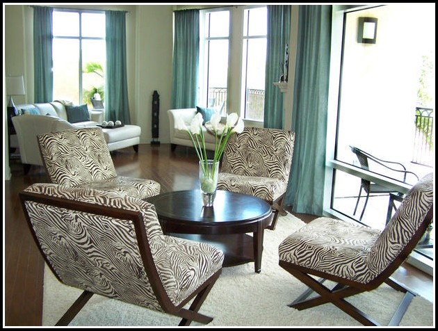 Brown And Turquoise Curtains For Living Room