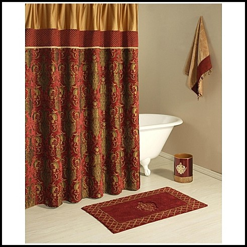 Dark Brown And Gold Curtains