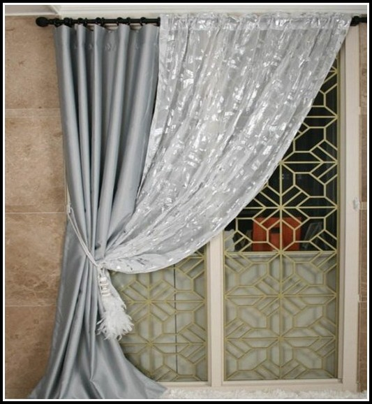 Extra Long Double Curtain Rods 200 Inches