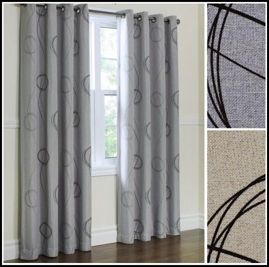 Room Darkening Curtains Grommet Top Curtains Home