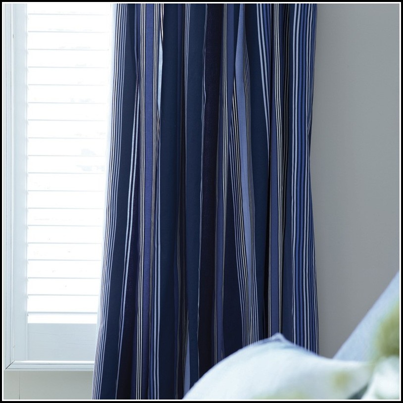 Navy Blue Horizontal Striped Curtains Download Page Home Design Ideas Galleries Home Design