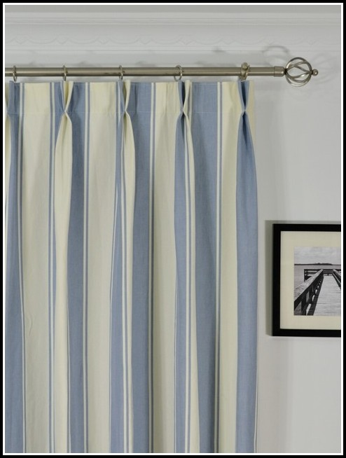 Navy Blue White Stripe Curtain Curtains Home Design Ideas Drdkgykdwb34213