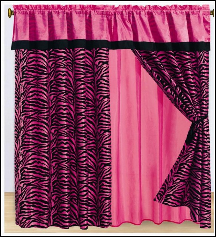 Pink And Black Curtains Uk