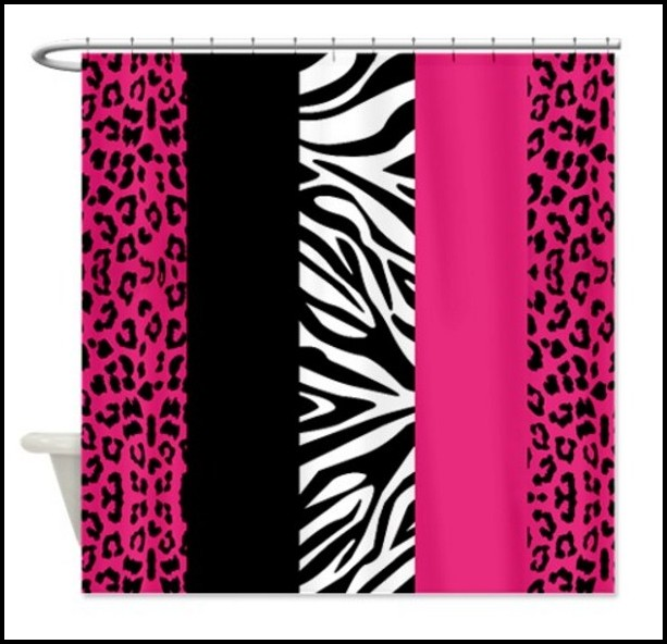 Animal Print Bathroom Window Curtains Curtains Home