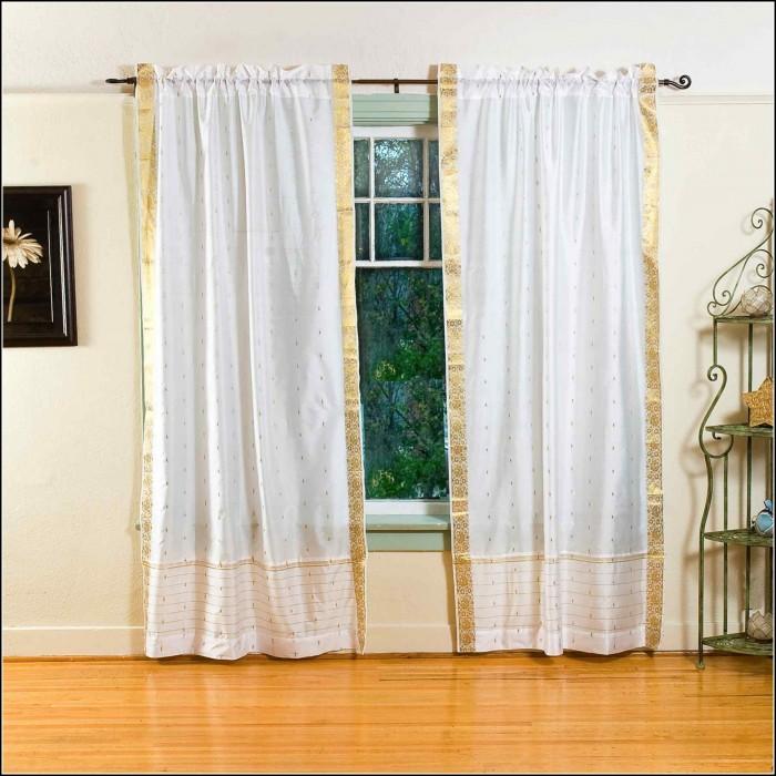 Sheer Tab Top Curtains 63