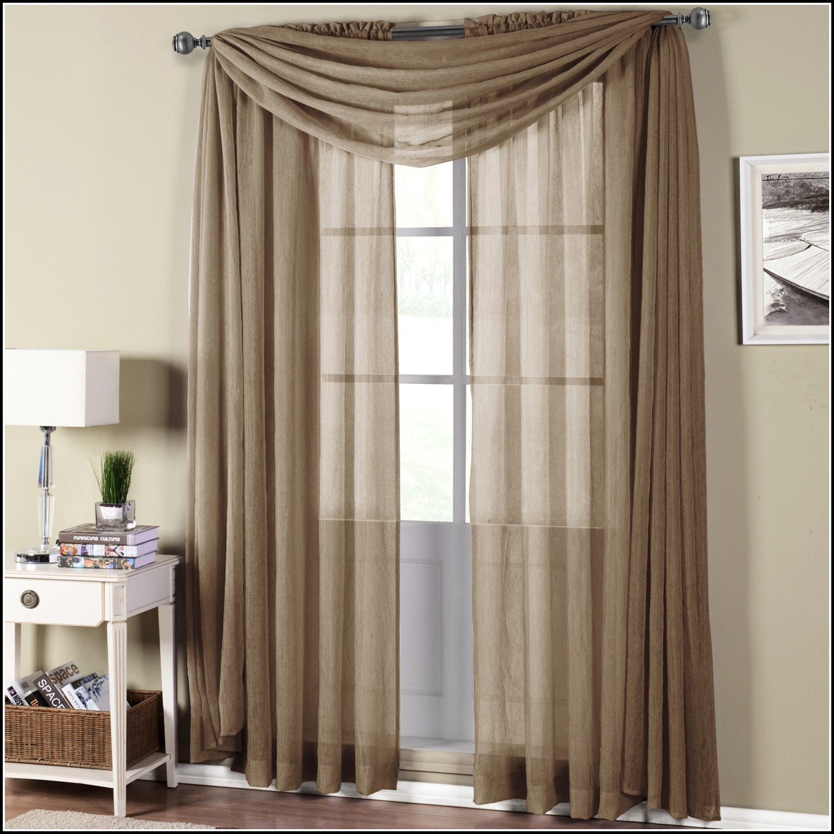 Side Wall Mount Curtain Rods Curtains Home Design