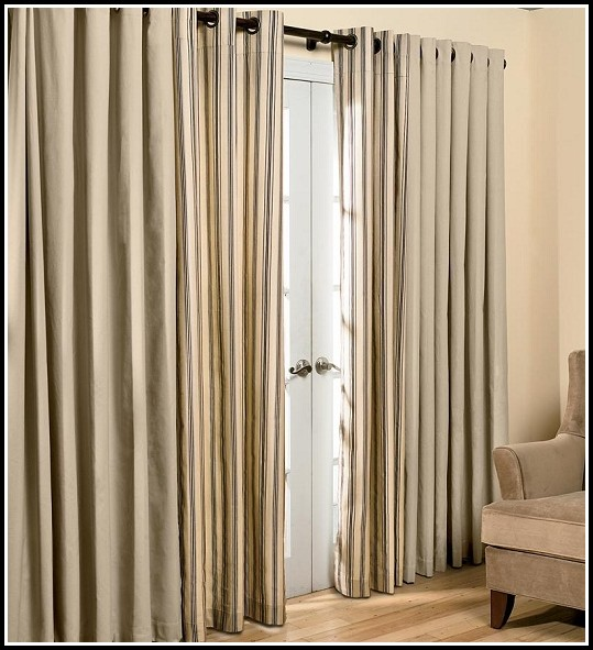 Sliding Patio Door Curtain Rod